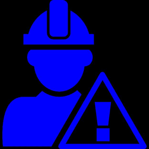 Icona corso formazione aggiuntiva per preposti e caposquadra