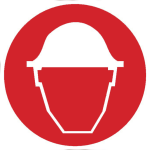 Icona servizio sicurezza nei cantieri